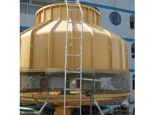 玻璃钢圆形逆流式冷却塔 (4)