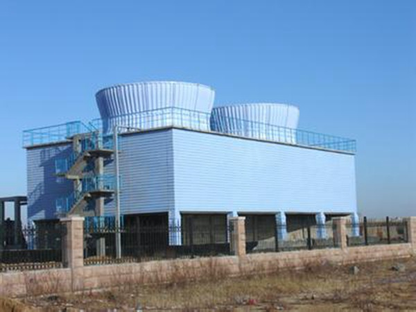 玻璃钢方形横流式冷却塔 (6)